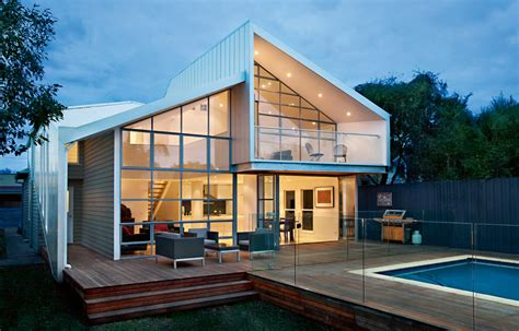 House Architectural by Blurred House By Bild Architecture Melbourne Australian
