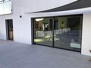 Baie Vitree Coulissante : la baie vitr e coulissante grande ouverture lumeal de ~ Dallasstarsshop.com Idées de Décoration