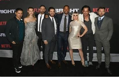 Bright Netflix Movie Murciano Enrique Premiere Carpet