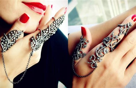 long finger rings for stylish indian brides blog
