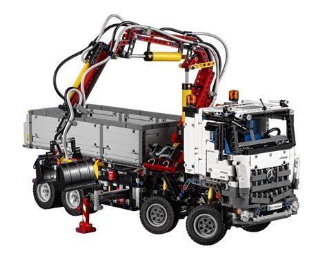 lego mercedes lego unveils mercedes arocs 3245 set with power