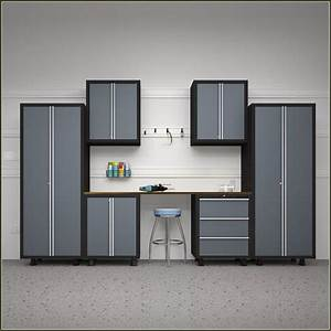 kobalt garage cabinets lowes roselawnlutheran With best brand of paint for kitchen cabinets with costco metal wall art
