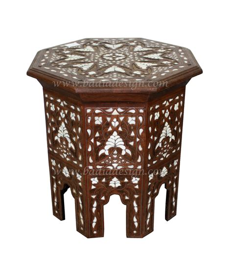 mother of pearl table l white mother of pearl side table from badia design inc