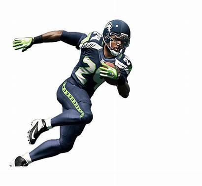Football American Running Nfl Clipart Player Pngimg