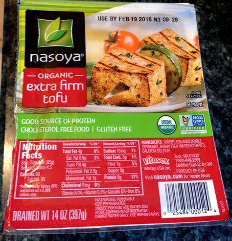 tofu calories silken tofu nutrition label nutrition ftempo