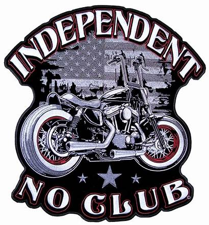 Biker Patches Patch Motorcycle Club Independent American