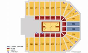 Nutter Center Seating Diagram For Seats Section 214 Row 12