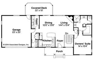 ranch floor plan ranch house plans gatsby 30 664 associated designs