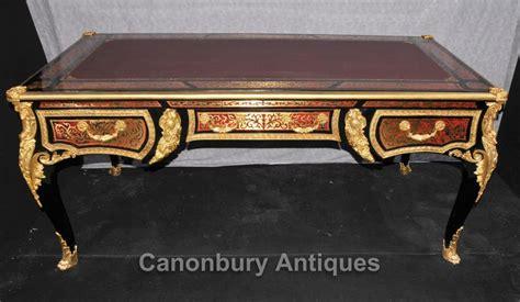 bureau boulle boulle bureau archives antiquites canonbury