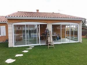 Fermer Une Terrasse Couverte : veranda terrasse couverte gw84 jornalagora ~ Melissatoandfro.com Idées de Décoration