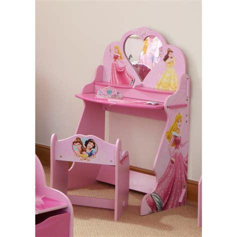 bureau de princesse chambre de princesse pour fille