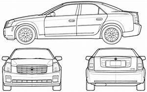 car blueprints cadillac With cadillac cts v
