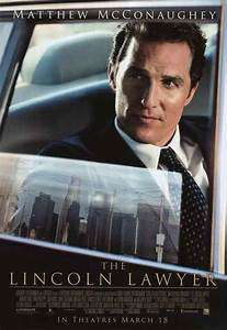 Lincoln Lawyer movie posters at movie poster warehouse ...