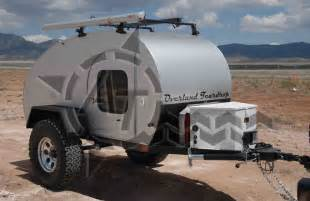 4x4 Teardrop Camper Trailer