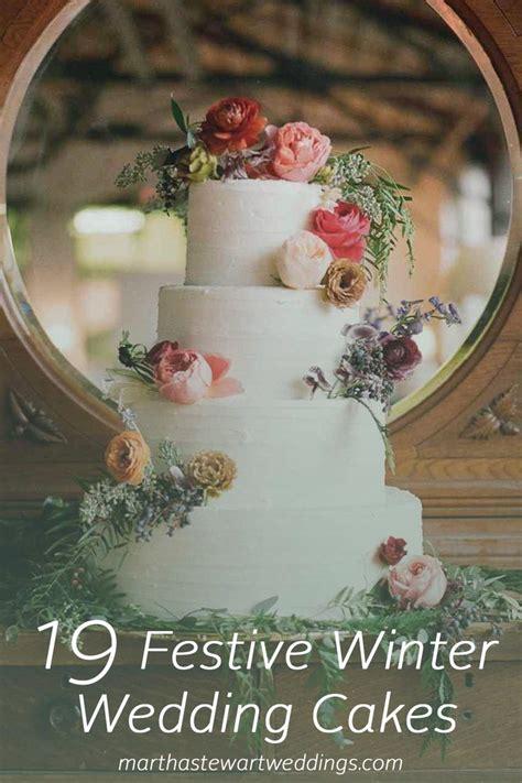 19 Festive Wedding Cakes Martha Stewart Weddings