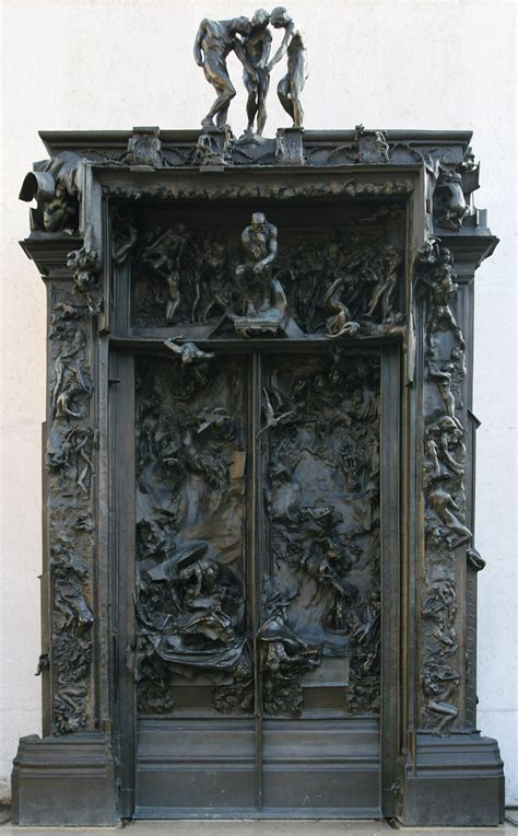 Porta Dell Inferno Dante by La Porta Dell Inferno Rodin
