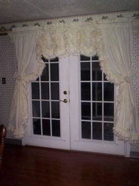 country ruffled curtains valances  sale