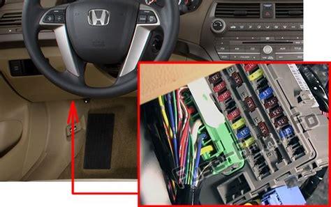 Fuse Box For 2009 Honda Accord by Honda Accord 2008 2012