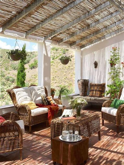 idee deco avec cette belle terrasse ombragee mobilier