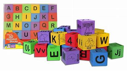 Blocks Alphabet 3d Wooden Foam Alpha Letters