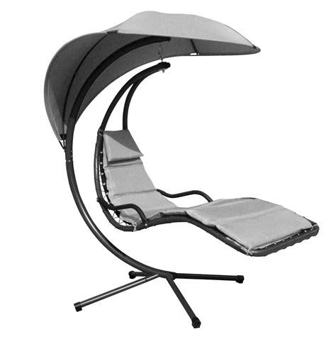 hang lounge stoel swing beige giardino balkon - Hang Lounge Stoel