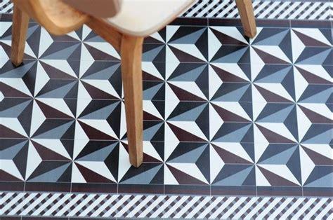 Pvc Imitation Carreaux De Ciment Sol Vinyle Imitation Carreau De Ciment R 233 Tro Et Moderne