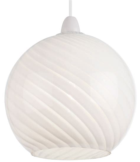 lowther swirled white glass ceiling l shade ne lowther wh