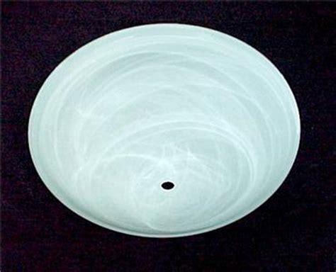 glass bowl light fixture replacement swirl white glass 15 5 quot bowl light shade center hole