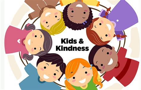 Children Showing Kindness Png Free Download