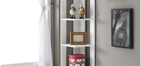 Living Room Glass Corner Shelves by Corner Shelving Units Review Of Best Storage And