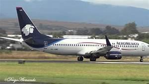 Aeromexico Boeing 737-800 Despegando De Guadalajara