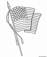 Flag Coloring Waving Printable Usa Line Drawing 7e53 Sheets Flags Holidays Printables Getdrawings Labor Learning Flying sketch template