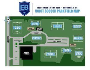 maps locations elmbrook united soccer