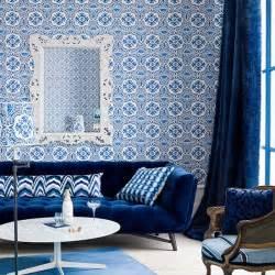 bathroom mural ideas idées déco pour votre salon marocain le bleu à l 39 honneur