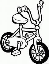 Bike Bicycle Coloring sketch template