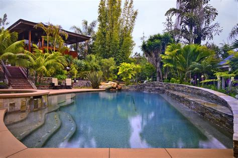 pool tropical landscaping ideas tropical pool calimesa ca photo gallery landscaping network