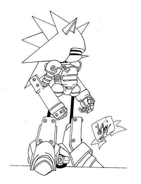 Kleurplaat Metal Sonic by 44 Best Images About Tucker S Sonic Stuff On