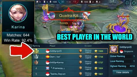 Best Player In The World Karina Gameplay
