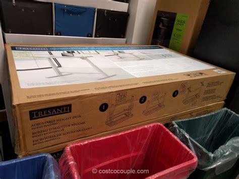 costco desks for sale tresanti adjustable height desk