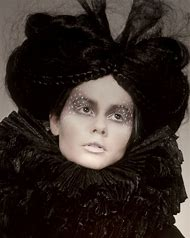 Gothic Victorian Makeup and Hair