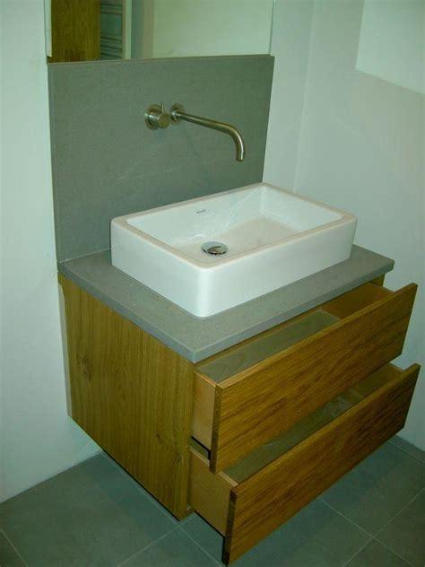 waschtisch mit steinplatte badezimmerm 246 bel schreinerei klemm simmern hunsr 252 ck