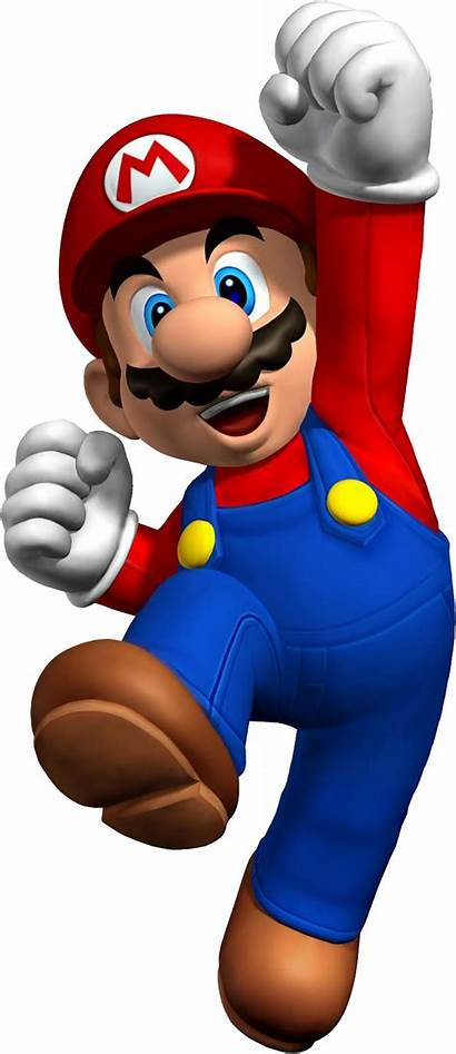 Mario Transparent Super Bros Jumping Brothers Paper