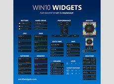 Win10 Widgets apporte les gadgets sur Windows 10