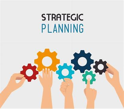 Strategic Planning Vector Illustration Strategy Eps Produces