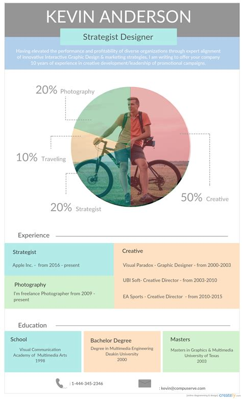 20419 infographic resume template infographic resume templates the recruiters will