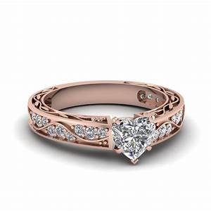 vintage looking pave diamond wedding ring for women in 14k With looking for wedding rings