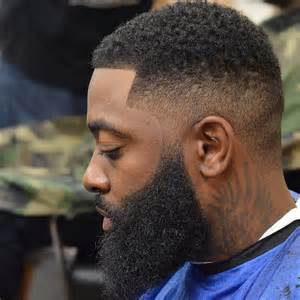 Shadow Fade Haircut Black Man