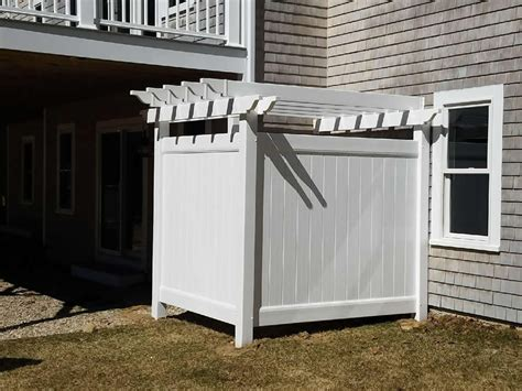 cape  shower enclosures bennett fence  arbor