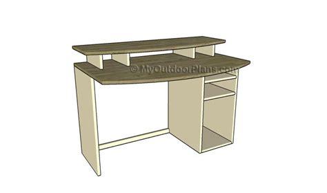 images  desk plans  pinterest computer