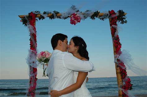 Beach Wedding :  Wedding Arch Rentals In South Florida